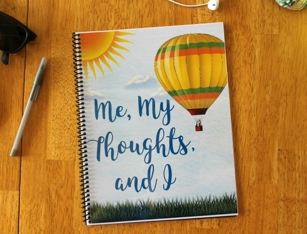 Me, My Thoughts, and I writing journal for kids