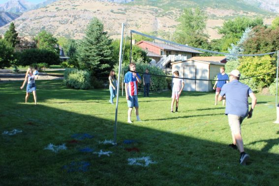 4th of July outdoor volleyball