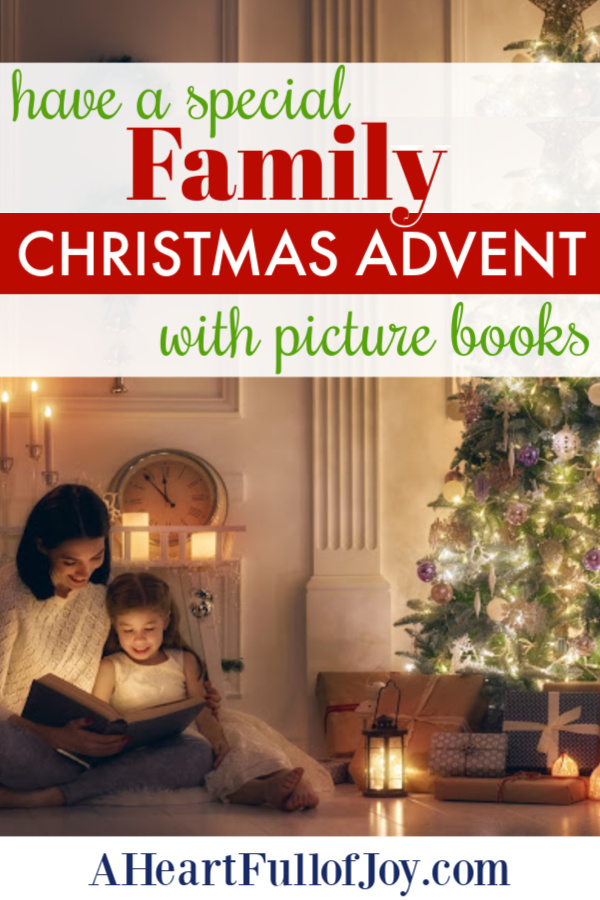 Family Christmas Advent Picture Books