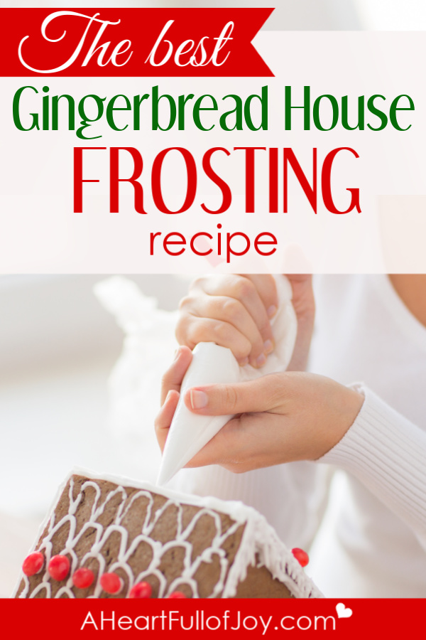 The Best Gingerbread House Frosting Recipe