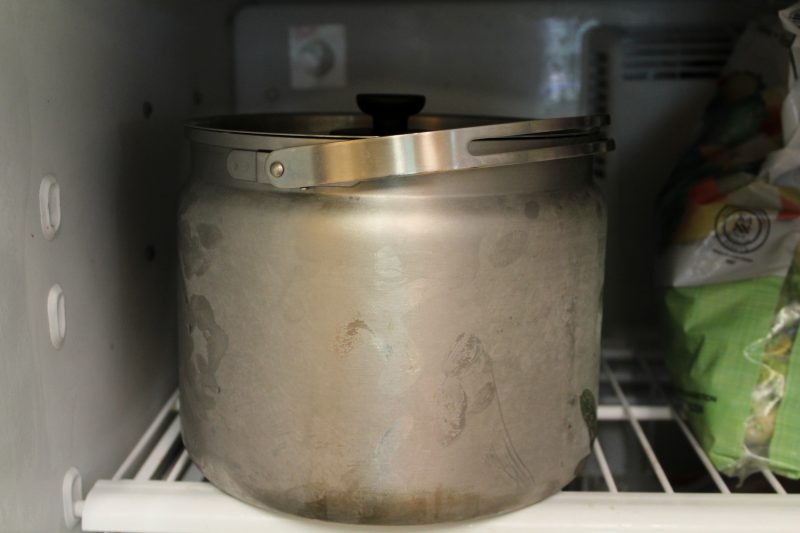 Ice Cream on the go with a Thermal Cooker