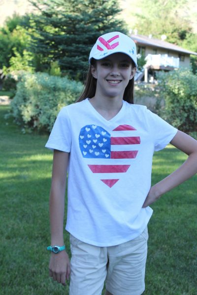 DIY 4th of July shirt