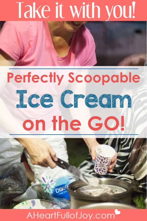 Homemade Ice Cream on the Go with a Thermal Cooker