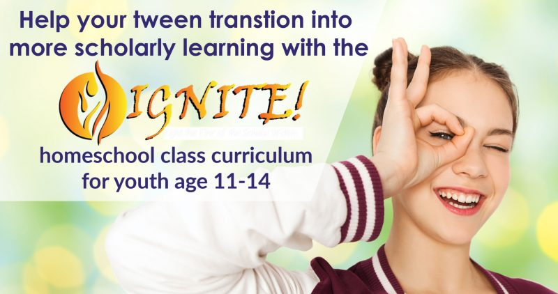 Ignite homeschool curriculum