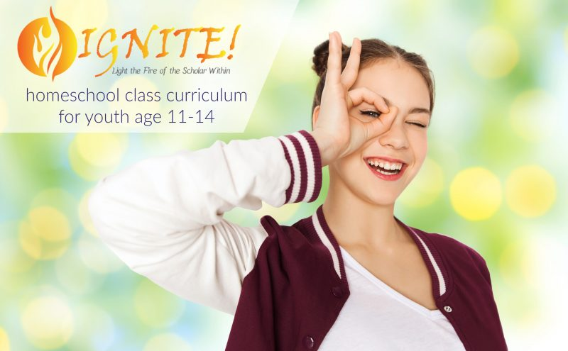 Ignite homeschool class curriculum