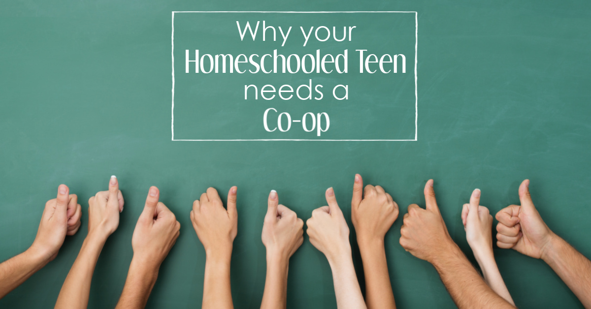 Why your homeschooled teen needs a co-op
