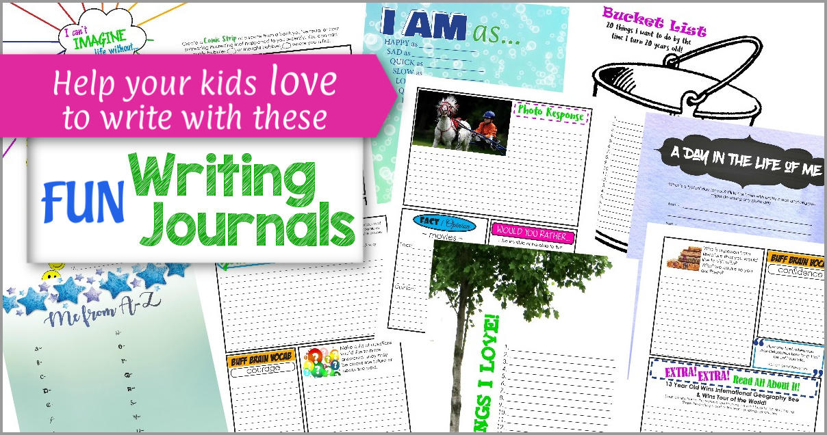 Writing Journals for kids