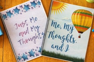 2 writing journals for kids