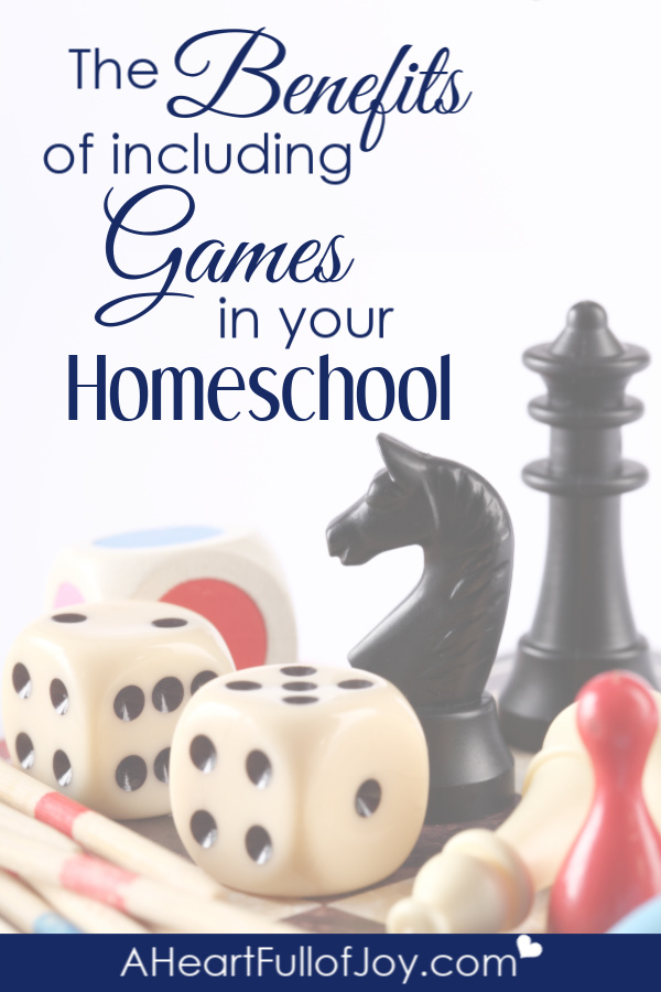using games in homeschool