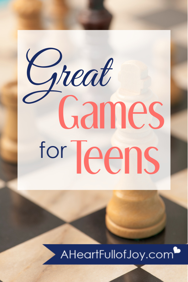 Great games for teens